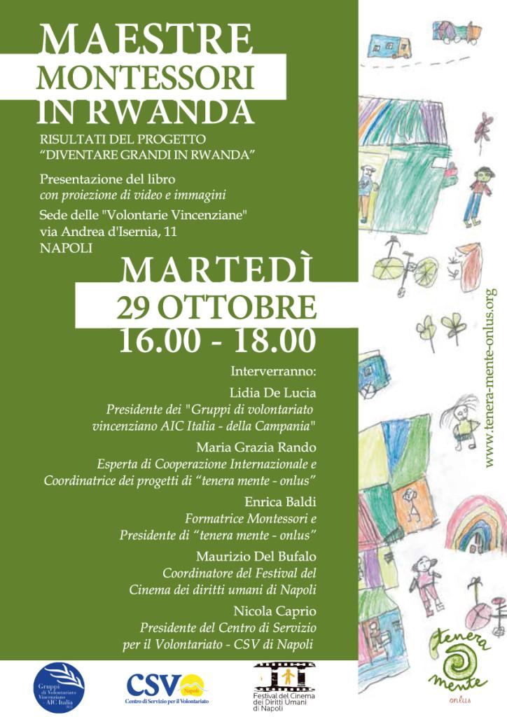 Maestre Montessori in Rwanda a Napoli