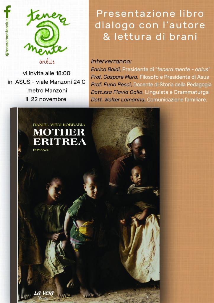 """WEDI - Libro """"Mother Eritrea"""""""