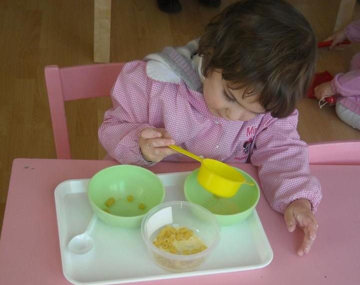 Separare pasta da polenta