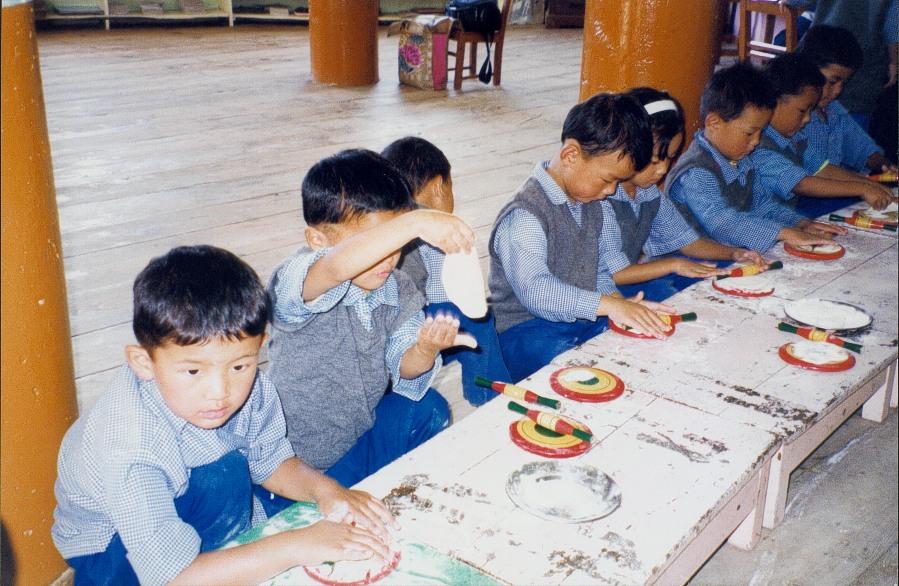 23 bambini chapati